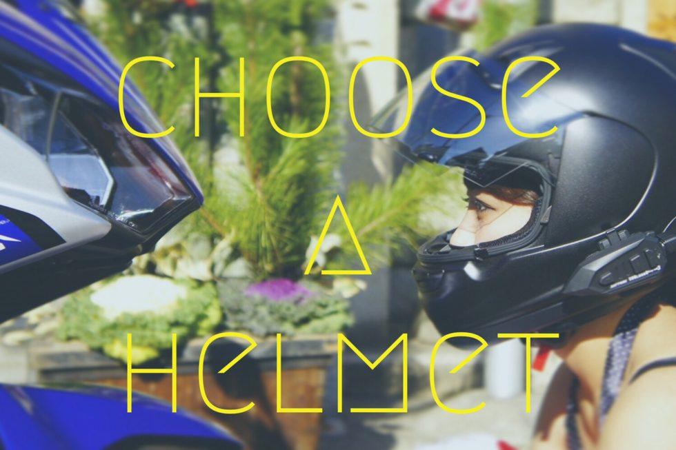 ヘルメット選びの3つのポイント!タイプ比較とバイクに合うおすすめヘルメットまとめ