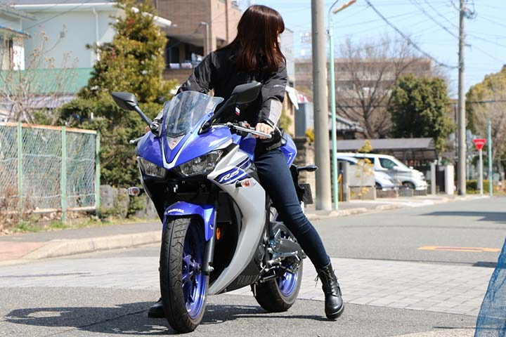 人とバイク